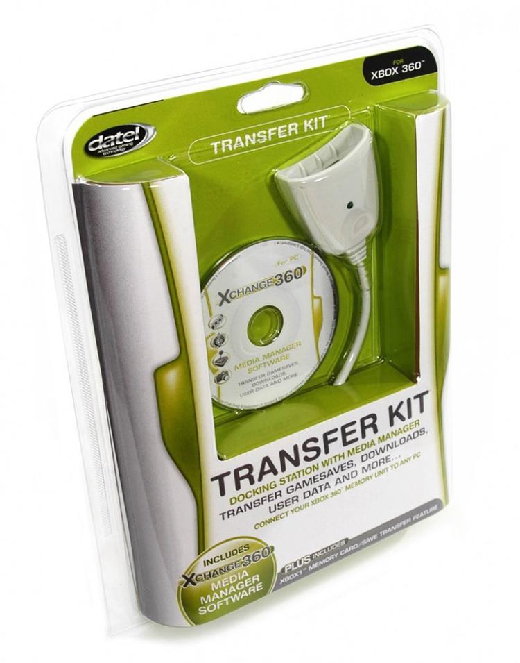 Xbox 360 Memory Card Transfer Kit