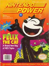 Nintendo Power Magazine Volume 40 Felix The Cat