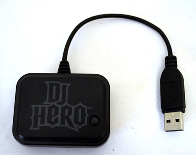 PS2/3 DJ Hero Wireless Turntable Receiver