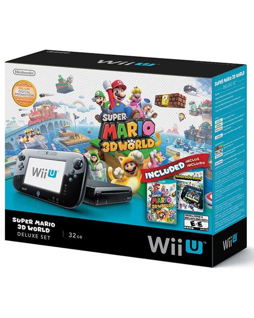 Nintendo Wii U Deluxe Set: Super Mario 3D World + Nintendo Land Bundle