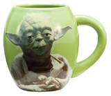 Star Wars Yoda 18oz Ceramic Mug