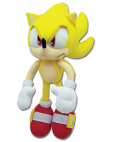 Sonic the Hedgehog Super Sonic 12 Inch Plush