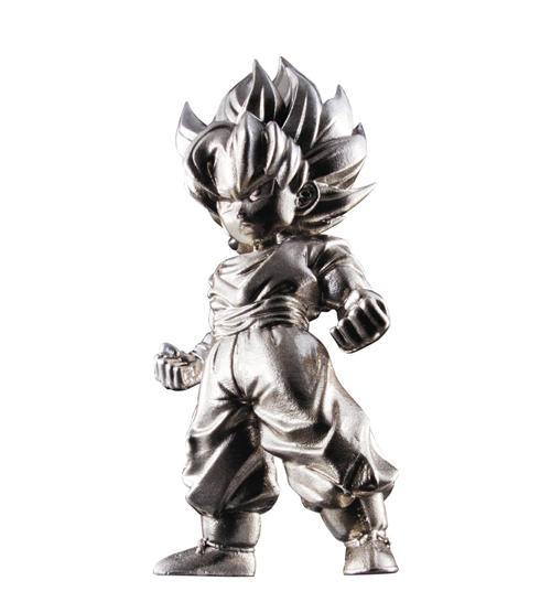 DBZ Super Saiyan Son Goku Absolute Chogokin Mini Figure