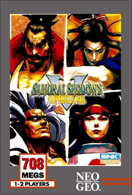 Samurai Shodown V Special Neo Geo AES