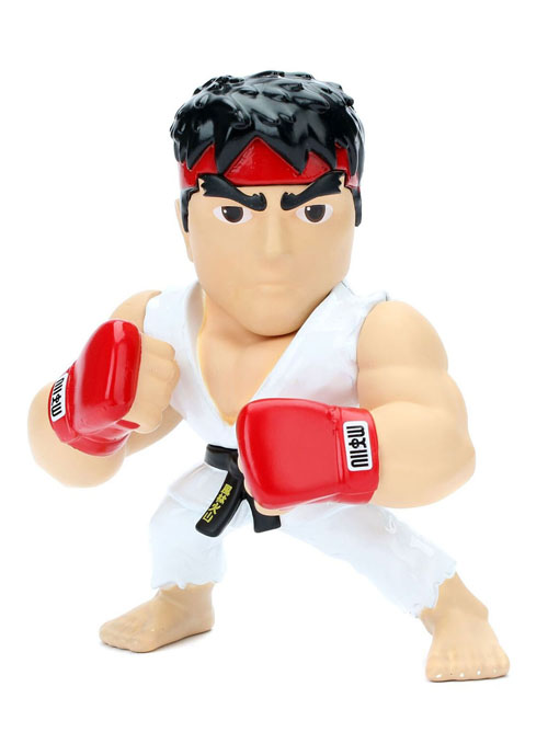 Street Fighter Metals Ryu Die-Cast 4 Inch Figure