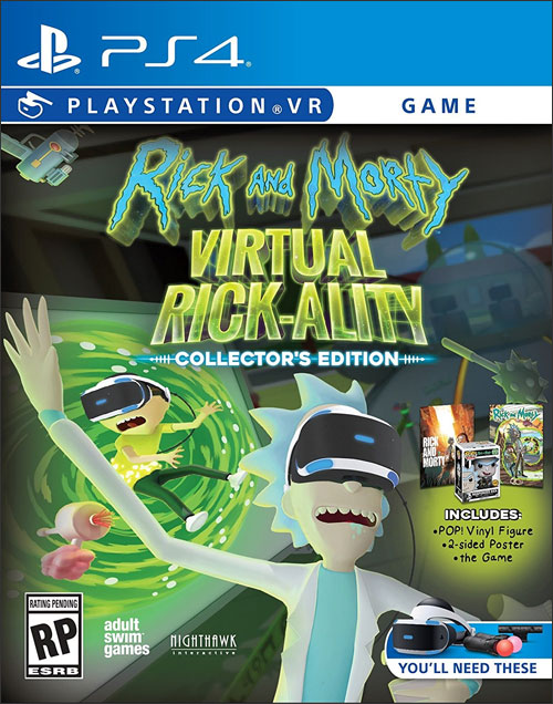 Rick & Morty: Virtual Rick-Ality Collector's Edition
