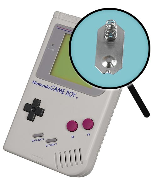 Game Boy Repairs: Battery Contact Replacement Service