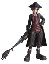 Kingdom Hearts III: Bring Arts Pirate Sora Action Figure