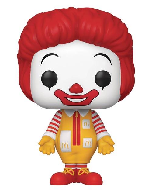 Pop Ad Icons McDonald's Ronald McDonald Vinyl Figure