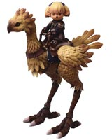 Final Fantasy XI Shantotto & Chocobo Bring Arts Action Figure Set