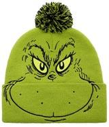 Dr Seuss The Grinch Big Face Beanie