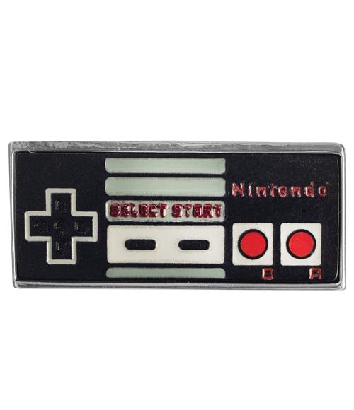 Nintendo NES Controller Lapel Pin