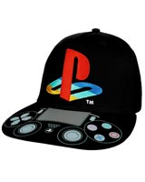 PlayStation Controller & Logo Youth Snapback Hat