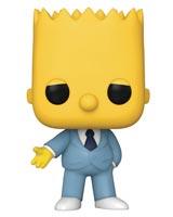 Pop Animation Simpsons Gangster Bart Vinyl Figure