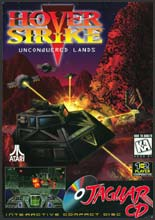 Hover Strike Unconquered Lands Jaguar CD