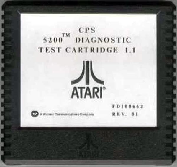Atari 5200 Diagnostic Cartridge