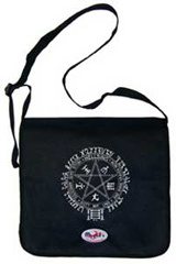 Courier^3 Hellsing Pentagram Black Courier Bag
