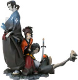 Samurai Champloo Figure & Bust Set