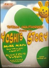 Yoshi's Story Unauthorized Srategy Guide Book