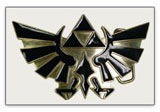 Zelda Twilight Princess Triforce Logo Belt Buckle
