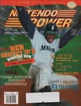Nintendo Power Magazine Volume 84 Ken Griffey JR.'s Winning Run