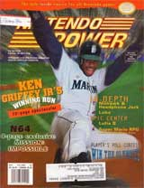 Nintendo Power Magazine Volume 84 Ken Griffey JR.'s Winning Run