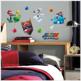 Super Mario Galaxy 2 Wall Decals