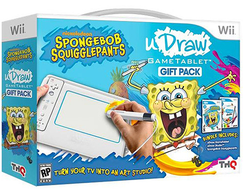 uDraw GameTablet SpongeBob SquigglePants Gift Pack