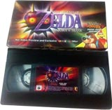 Legend of Zelda: Majora's Mask/Banjo-Tooie Promo VHS Tape