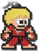 Street Fighter IV Ken 8-Bit Keychain