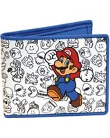 Nintendo Mario and Enemies Outline Bio-Fold Wallet