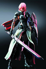 Final Fantasy XIII Play Arts Kai Lightning Returns Action Figure