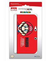 3DS XL Mario Silicone Protector