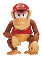World of Nintendo 4 Inch Figures Wave 4 Diddy Kong