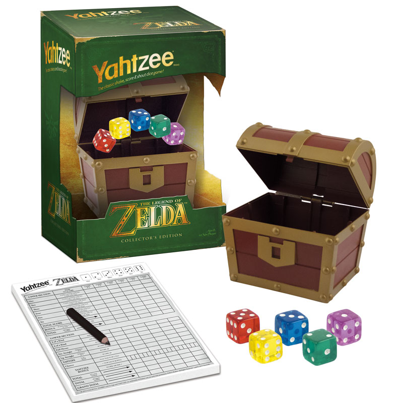 Legend of Zelda Yahtzee Collectors Edition