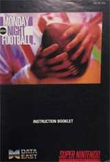 Monday Night Football (Instruction Manual)