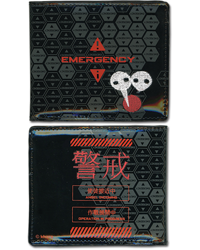 Evangelion New Movie Emergency Bi-Fold Wallet