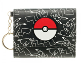 Pokemon Mini Pokeball Tri-Fold Wallet
