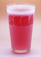 Arts & Crafts: Sega Logo Frosted Custom-made 16oz Glass