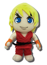 Street Fighter IV Ken 8 inch Plush