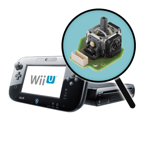 Nintendo Wii U Repairs: Gamepad Analog Stick Replacement Service