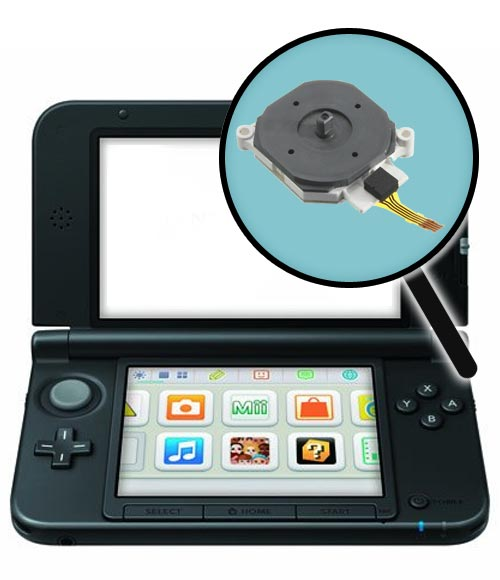 Nintendo 3DS XL Repairs: Analog Control Stick Replacement Service