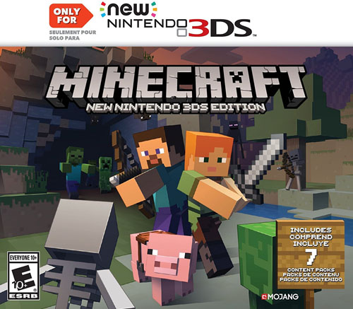 Minecraft: New Nintendo 3DS Edition
