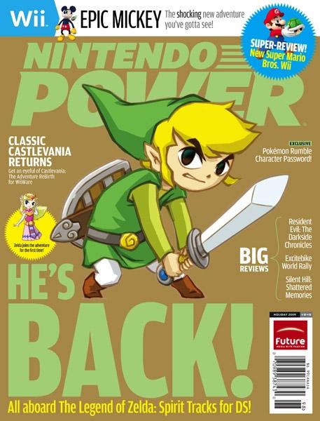Nintendo Power Volume 249 The Legend of Zelda Spirit Tracks