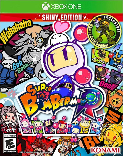 Super Bomberman R Shiny Edition