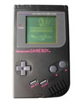 Nintendo Game Boy System Deep Black - Refurbished