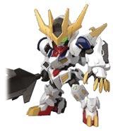 SD Gundam Cross Silhouette 16 Gundam Barbatos Lupus Rex Model Kit