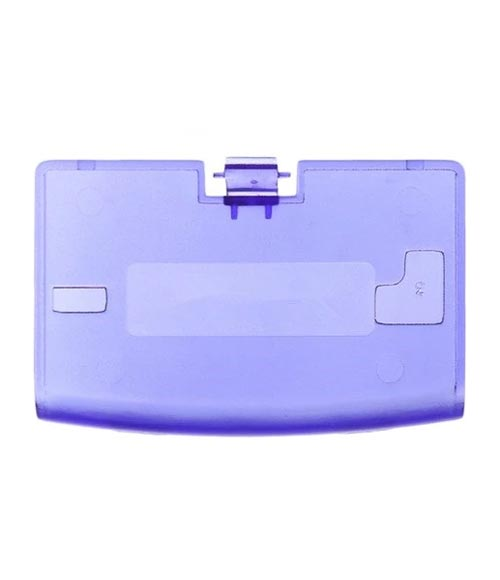 Game Boy Advance Replacement Clear Blue Battery Cover
