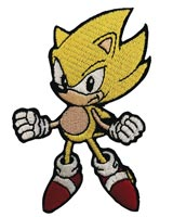 Sonic the Hedgehog Super Sonic Patch