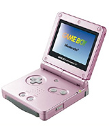 Nintendo Game Boy Advance SP Pearl Pink with Backlit Screen